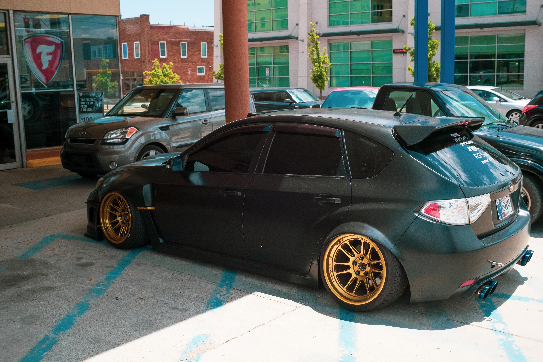 General 4896x3264 car JDM Subaru Impreza  colored wheels