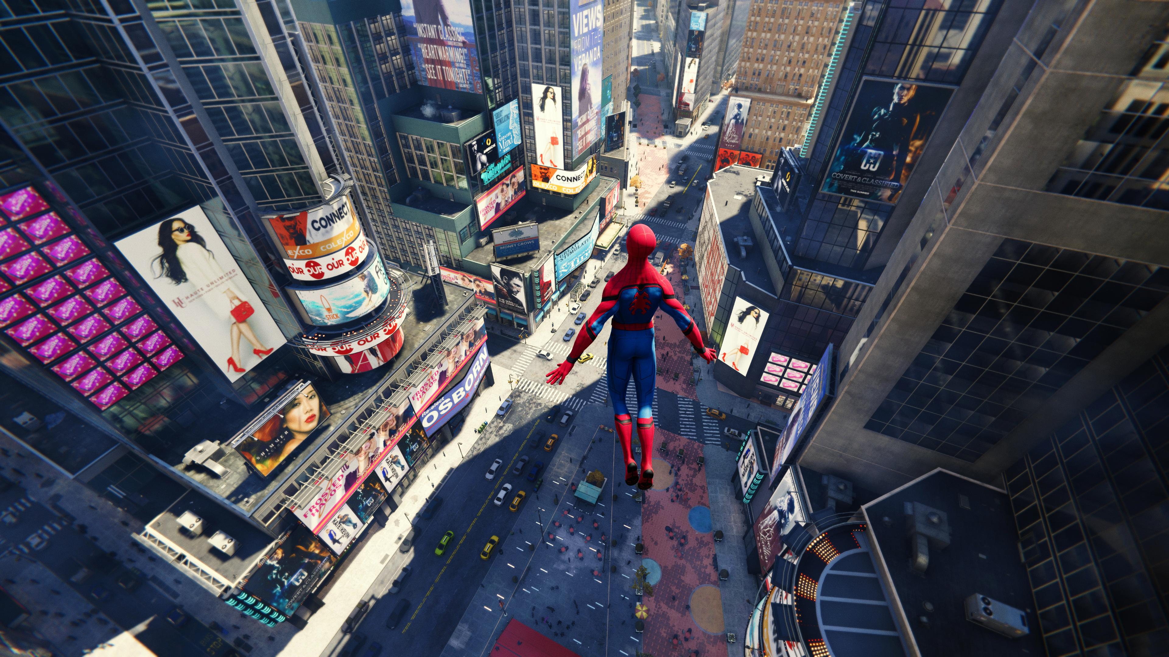 General 3840x2160 Spider-Man Video Game Heroes Marvel Comics