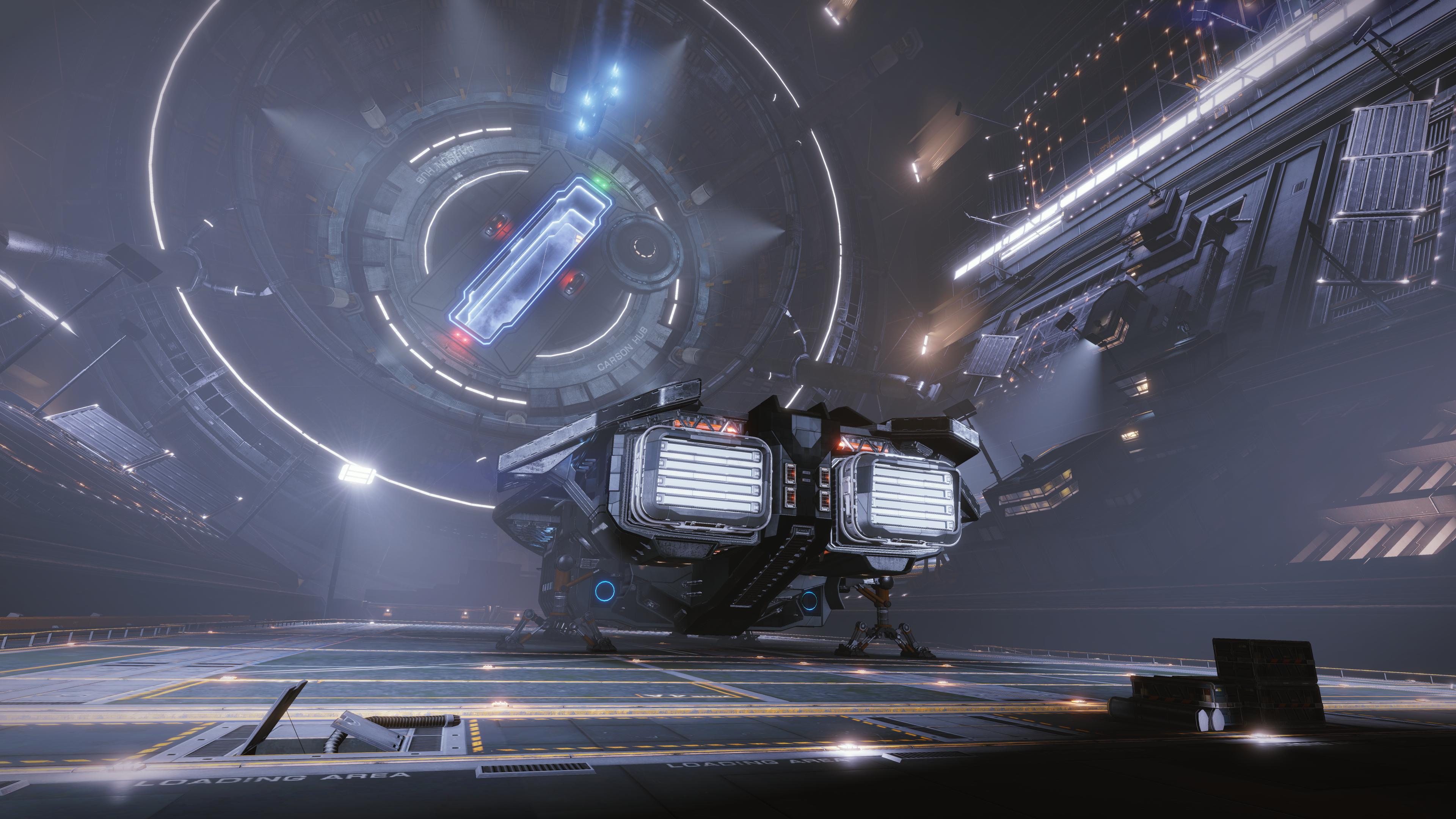 General 3840x2160 Elite: Dangerous Anaconda Anaconda (spaceship)