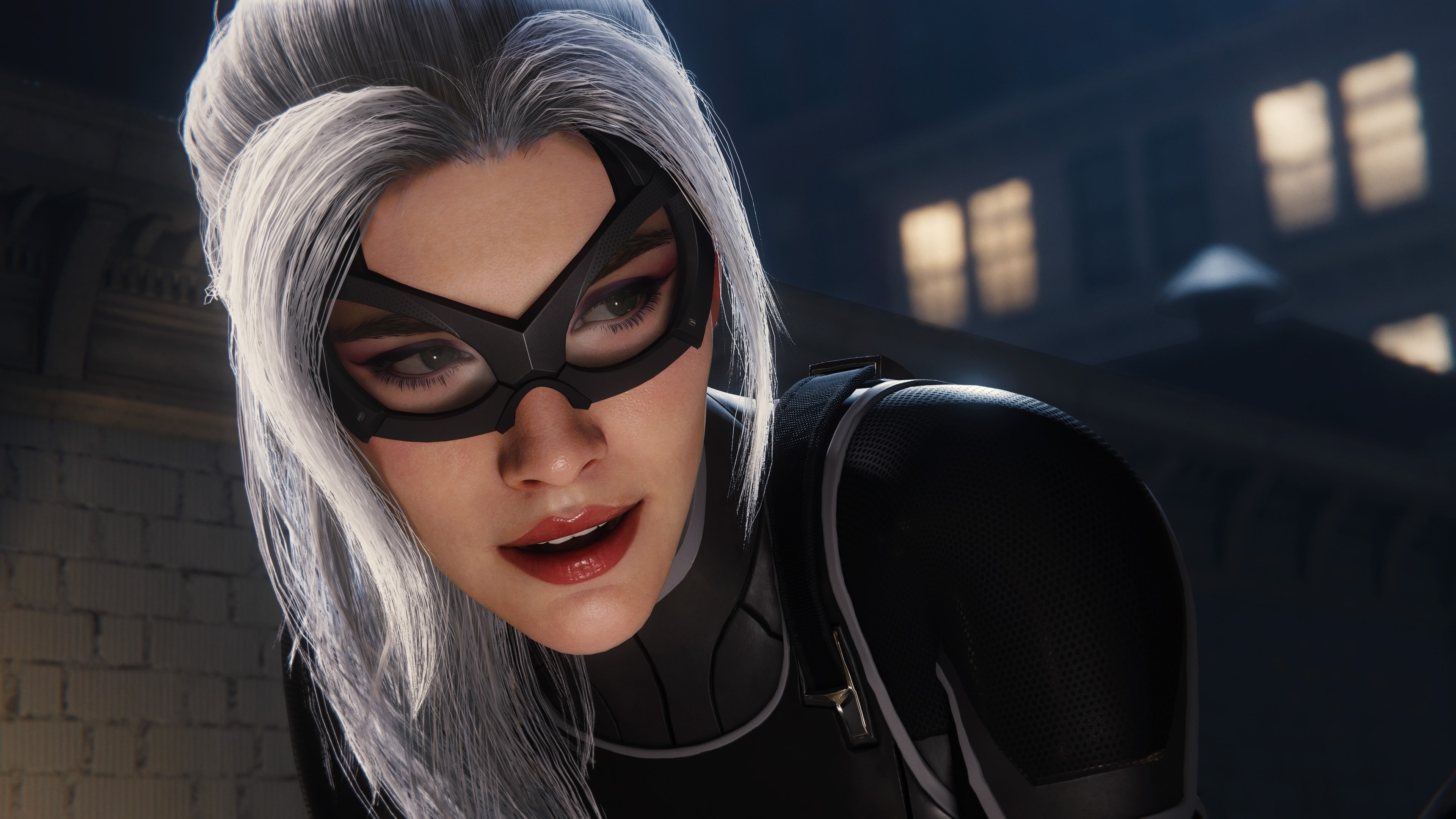 General 3840x2160 Black Cat Spider-Man (2018) Felicia Hardy Marvel Comics