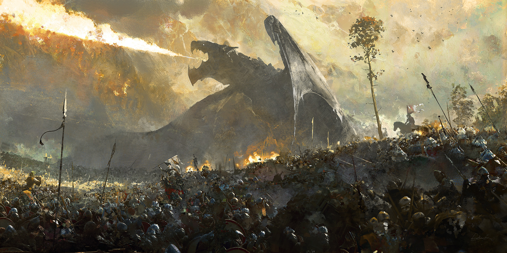 General 1920x960 fantasy art war battle artwork
