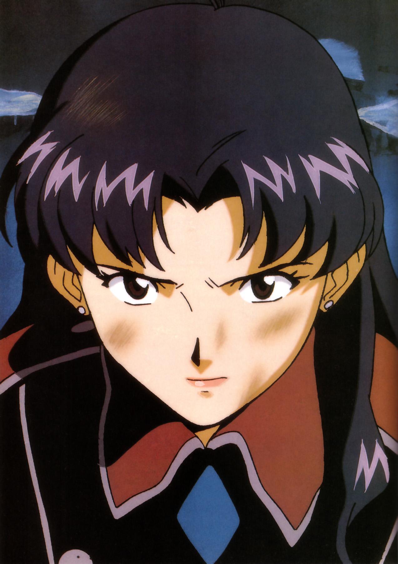 Anime 1273x1804 Katsuragi Misato Neon Genesis Evangelion women
