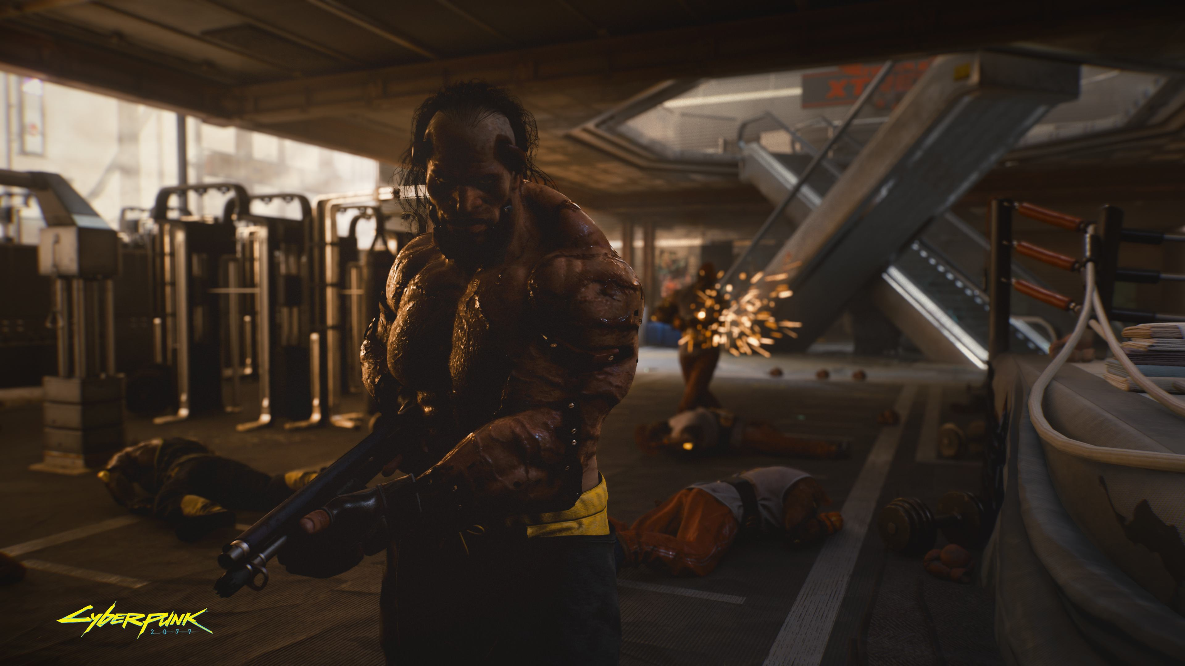 General 3840x2160 Cyberpunk 2077 video games screen shot Animals (Cyberpunk 2077 Faction)