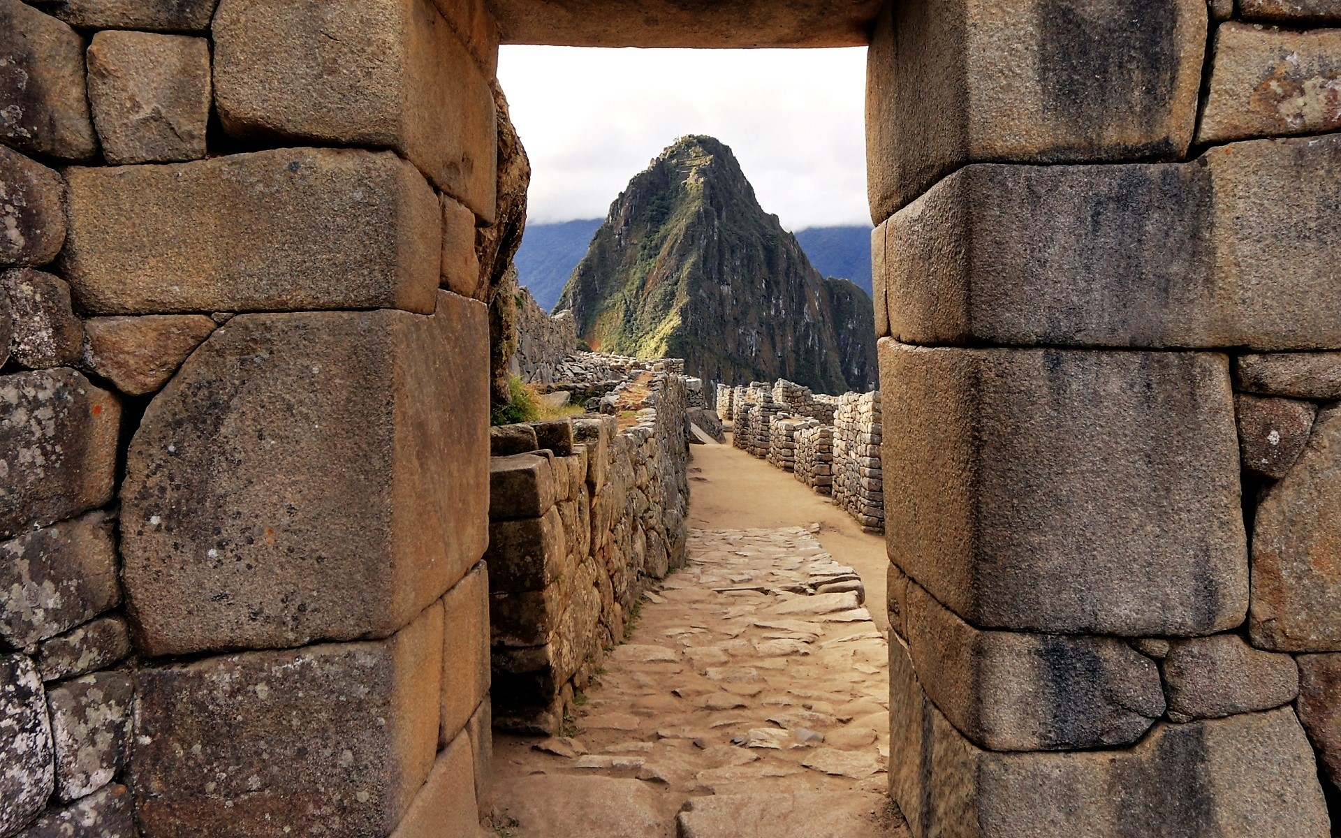 General 1920x1200 nature landscape architecture building old building ancient Machu Picchu mountains Peru wall stones World Heritage Site ruin ruins history South America