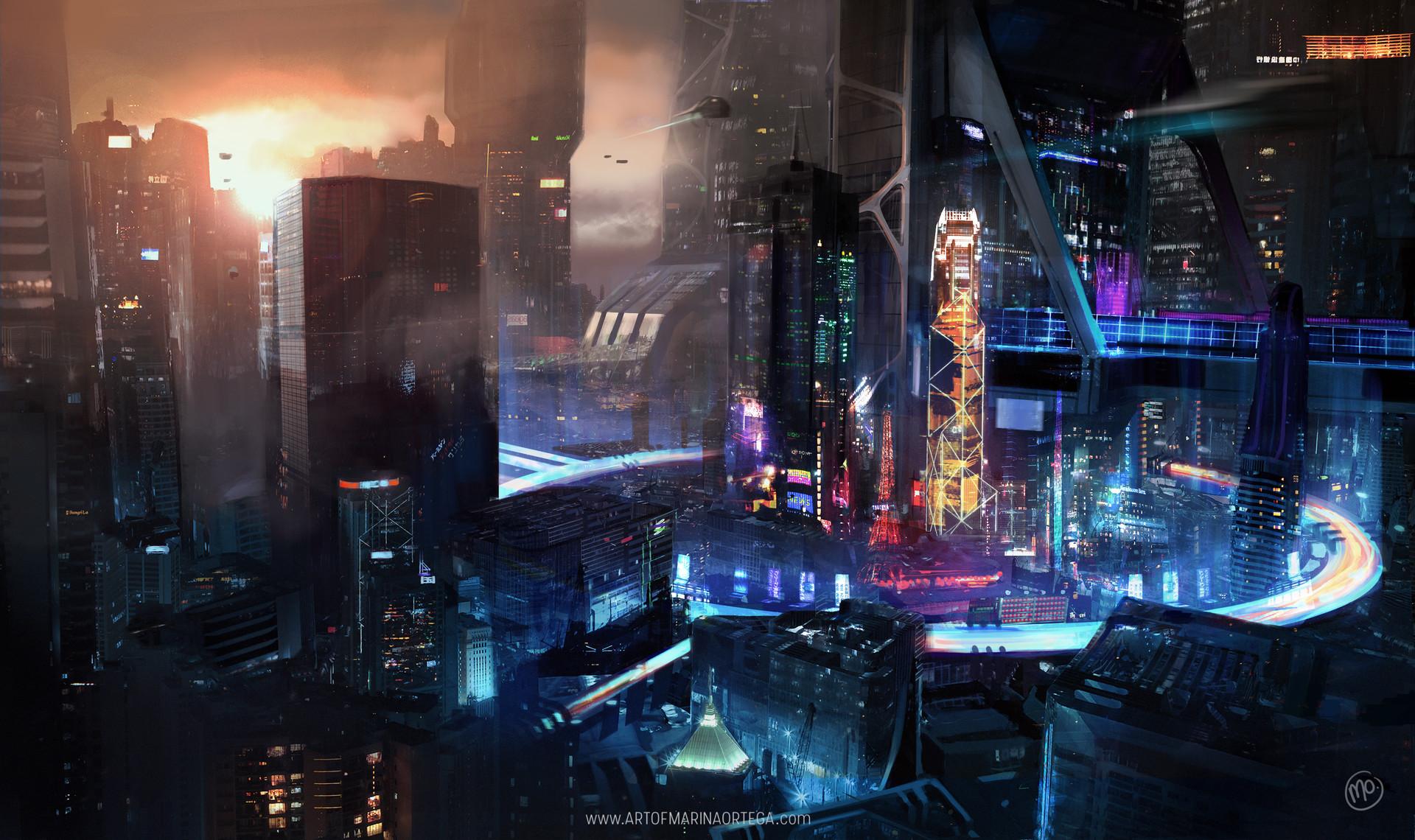 General 1920x1140 cyber cyber cyberpunk science fiction fantasy art digital art futuristic