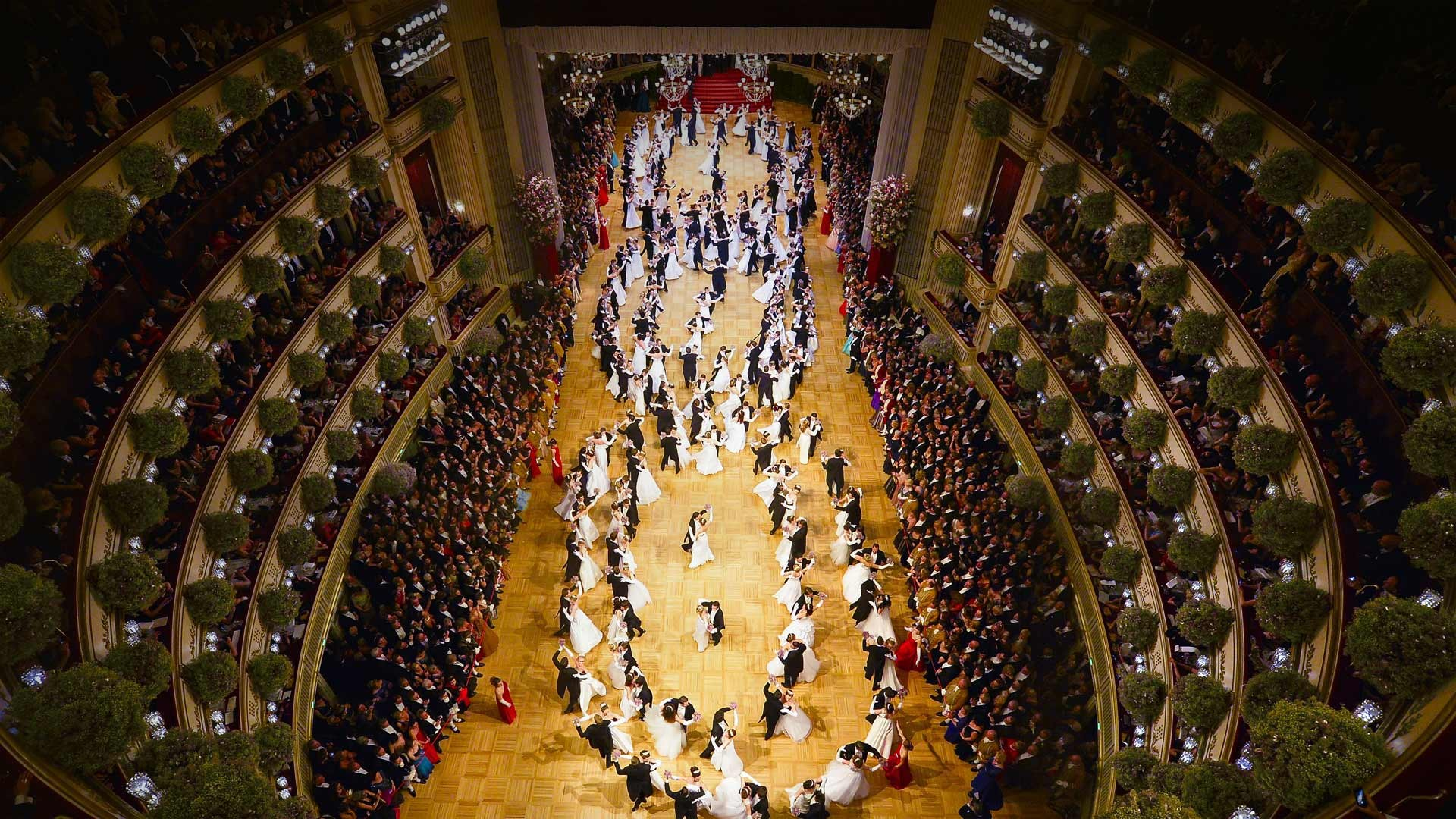General 1920x1080 Bing 2017 (Year) photography Vienna opera