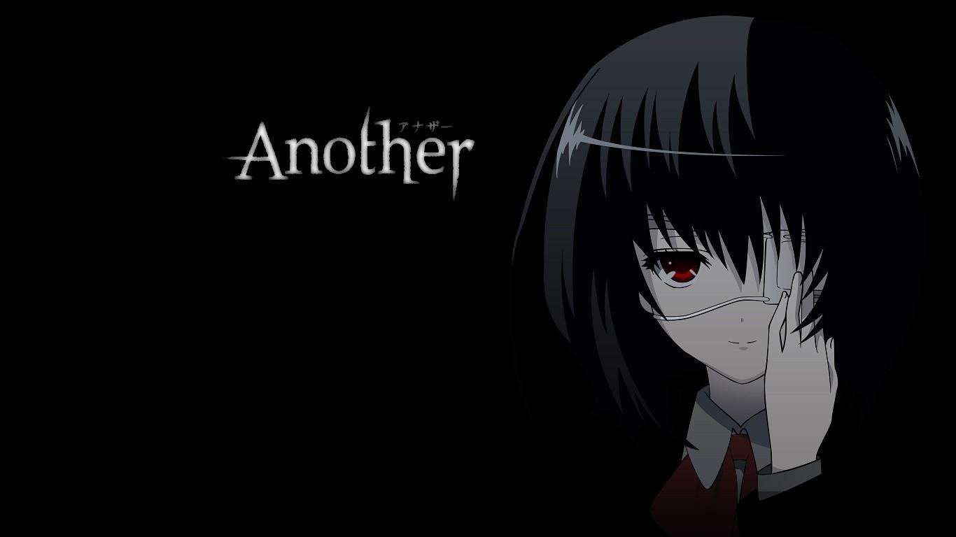 Anime 1366x768 manga Another Misaki Mei