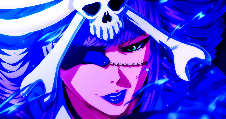 Anime 3000x1584 Bleach manga anime eye patch skull and bones
