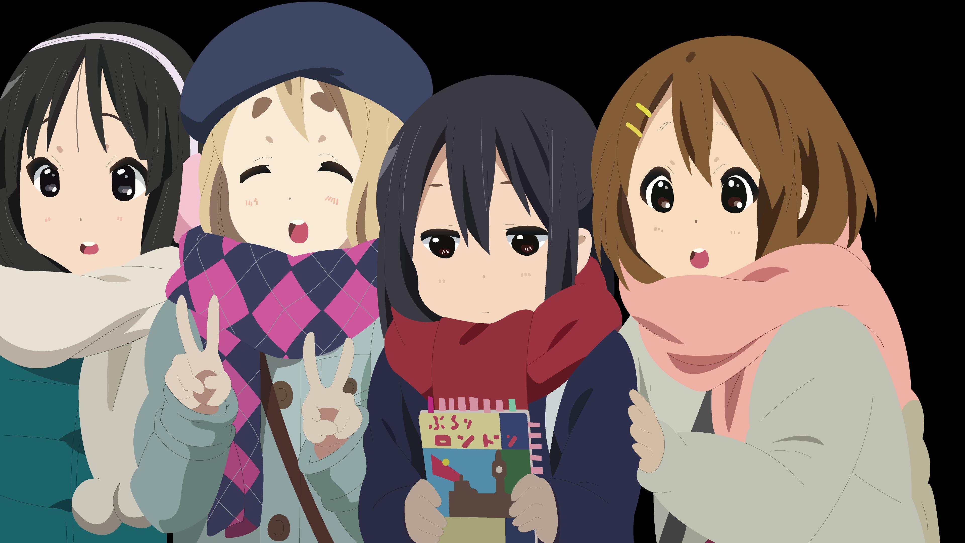 Anime 3840x2160 anime anime girls dark hair dark eyes