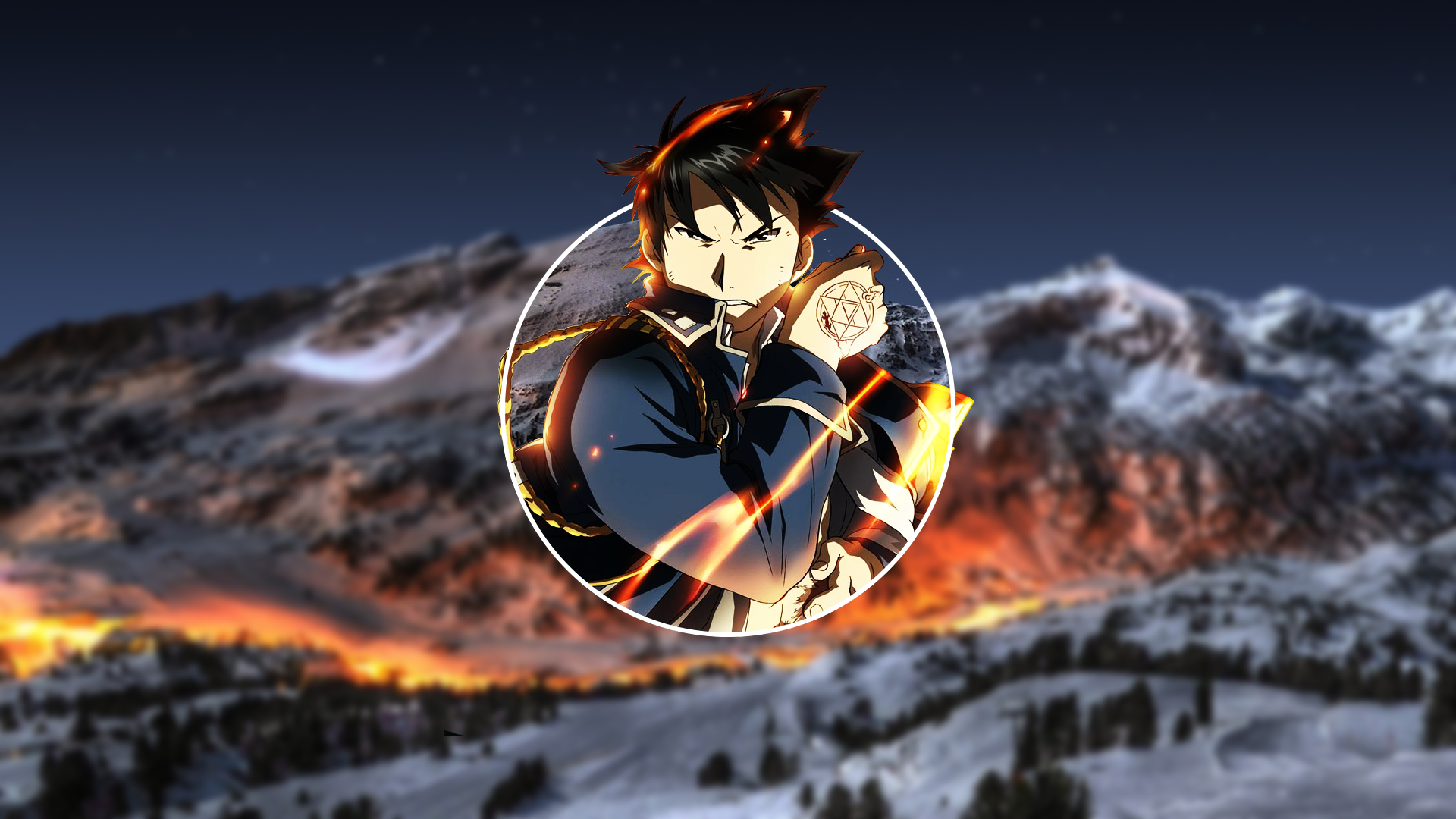 Anime 1920x1080 Roy Mustang Full Metal Alchemist Fullmetal Alchemist: Brotherhood picture-in-picture