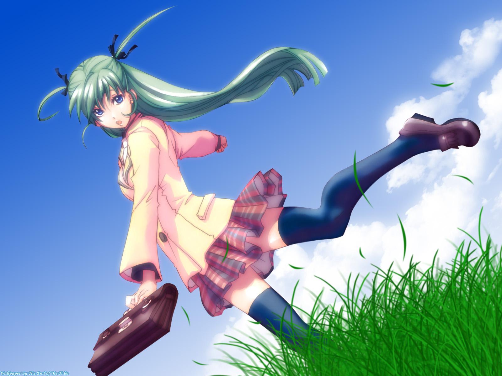 Anime 1600x1200 anime girls anime Hatsune Miku